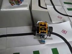 Artificial Neural network and Lego robot 'learning' to follow line. Lego robot 'learning' to follow a line based on selecting weights for a single artificial neurone @tachyeonz