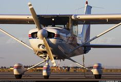 Most lessons took place in a Cessna 152