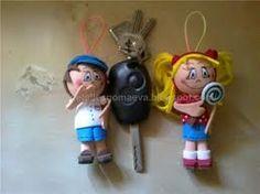 Muñecos - llavero