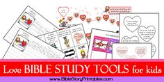 Free Love Bible Study Tools for Kids