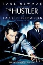 The Hustler ( 1961 )  An up-and-coming pool player plays a long-time champion in a single high-stakes match.