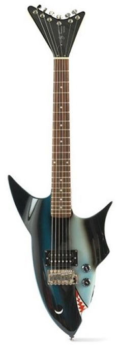 The Jay Turser shark guitar