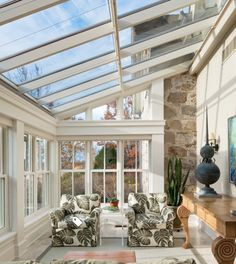 Gallery of beautiful sunroom ideas designs . A sunroom addition to your home is similar to a mix of a backyard patio and living room. Home Design, Interior Design, Design Ideas, Wall Design, Design Design, Glass House Design, Design Table, French Interior, Window Design