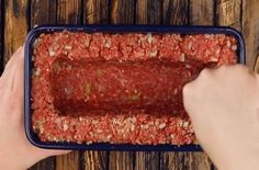 Mince Meat, Meat Loaf, Food Network Recipes, Cooking Recipes, The Kitchen Food Network, Protein Rich Foods, Easy Smoothie Recipes, Vegetable Drinks, Healthy Muffins
