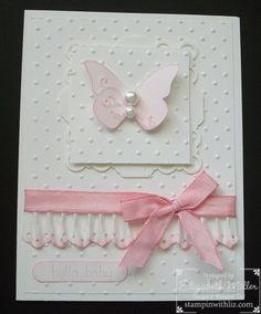 Sweet Baby Girl Card