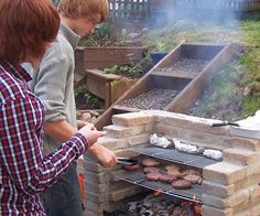 Build Your Own BBQ Pit | ... have a shot at constructing your own BBQ fire pit. Instructions here