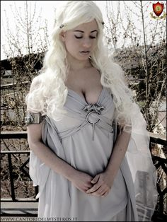 Game of Thrones Daenerys Targaryen Costume for Halloween. AH YES!!!!