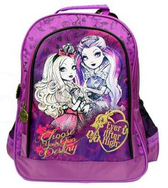 Plecak szkolny Ever After Ever After High, Lunch Box, Backpacks, Fans, Bento Box, Backpack, Followers, Fan