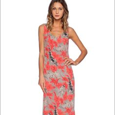 FL&L Mai Tai Maxi Dress in Red Orchid  NWT Beautiful For Love & Lemons Red Orchid Mai Tai Maxi Dress, size Medium. Please view all photos and ask any questions you may have before purchasing    ✨No Trades/PP✨ For Love and Lemons Dresses Maxi