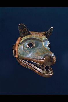 Northwest coast wolf mask. @cargocultist