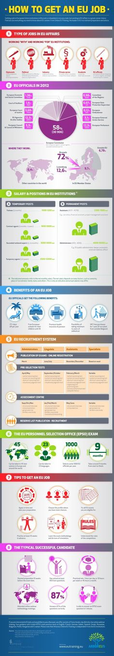 Avalanche Infographics - Tips to get a Job in Eu