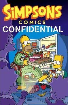 The Simpsons Comics Confidential cover