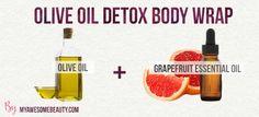 olive oil detox body wrap recipe
