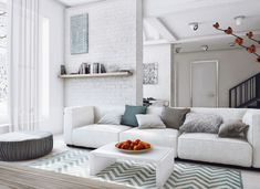 Loft Style Country House by Angelina Alexeeva (2)