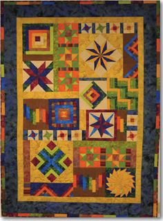 2013 Fairfield Quilt BOM from Quilting Warehouse
