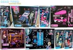 beetlejuiced: Monster High Dolls