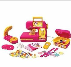 New Lalaloopsy Chainstitch Toy Sewing Machine & Bead Applicator Activity Set