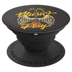 Cool Rock Music Winged Guitar Vintage Style PopSockets Grip and Stand for Phones and Tablets Vintage Style, Vintage Fashion, Pop Socket, Cool Rocks, Rock Music, Phones, Wings, Guitar, Cool Stuff
