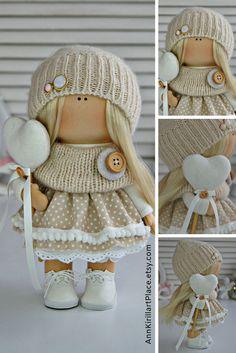 5 hangers white 30* 25*6 cm for dolls 30-33 cm Furniture hanger