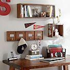 Paramount Peg Hook + 4 Hooks | Love this to put above the bookshelf in Evan's nursery! #potterybarnkids #pbteen