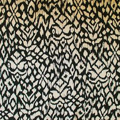 Tribal Rayon: Light drapey weight. 140cm wide.