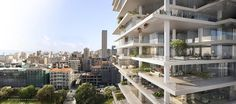Beirut Terraces, Beirut, 2014 - Herzog & De Meuron Architekten, Jacques Herzog, Pierre de Meuron ^