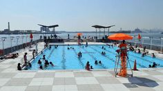 Best outdoor swimming pools in NYC open to the public