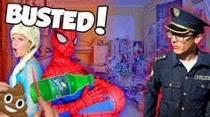 Content Cop - TOY CHANNELS #2 (GIANT GUMMY BOTTLE) Content Cop, Channel 2, Police, Captain Hat, Bottle, Toys, Youtube, Movie Posters, Activity Toys
