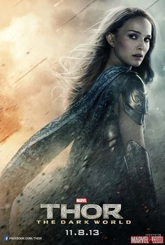 Check out this new poster for Marvel's Thor: The Dark World featuring Natalie Portman (Jane Foster) donning her Asgardian robes! http://marvel.com/news/story/21200/jane_foster_journeys_to_asgard_in_new_thor_the_dark_world_poster