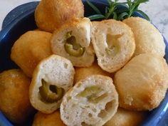 Bocconcini di olive verdi - Creando si impara