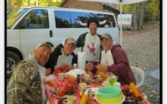 Best Buddies with their Annual Clambake -Clambake to Travel - Delivery -  B&M Catering - BBQ, Clambakes, Pig Roasts and more