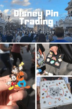 Have you ever traded pins? This fun activity inside Disney Parks adds a whole other level of magic to your trip. Disney Trading Pins, Disney Pins, Disney Logo, Types Of Pins, Magic Bands, Hidden Mickey, Road Trip Hacks, Disney Vacations, Etiquette