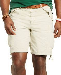 Polo Ralph Lauren Big and Tall Classic-Fit Ripstop Cargo Short