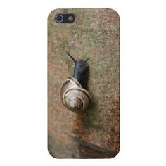 Snail iPhone 5 case Case Savvy glossy