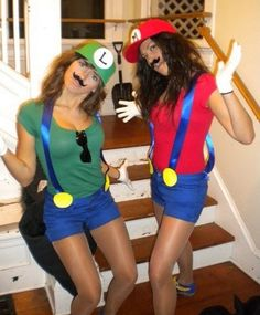 Halloween costume best friend ideas google search bauer bauer childress armistead tomlinson we should be mario and luigi for holloween solutioingenieria Choice Image