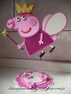 ideas party decoracion ideas birthday peppa pig for 2020 Fiestas Peppa Pig, Cumple Peppa Pig, 2nd Birthday Parties, Birthday Party Decorations, Girl Birthday, Peppa Pig Birthday Cake, Pig Party, Creations, Party Time