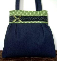 Óóóóóóóriási kedvezmény a kifutó táskákra!!!!  Farmer táska: pötty pötty hátán :), Táska, Ruha, divat, cipő, Válltáska, oldaltáska, Meska