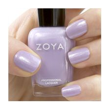 Zoya Julie-ZP650 full-coverage, soft wisteria purple metallic (made my heart beat fast)