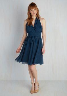 Set in Your Sways Dress in Dusk | Mod Retro Vintage Dresses | ModCloth.com