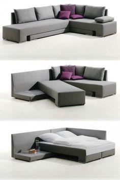 угловой диван-кровать трансформер Гениальное решение