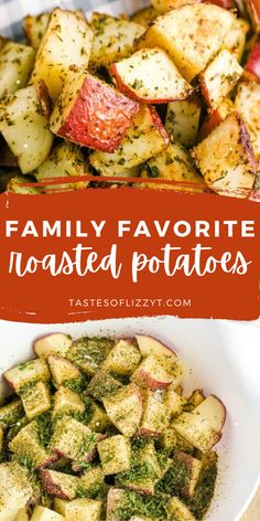 Roasted red potatoes are a delicious side dish that pairs perfectly with just about everything. This recipe for crispy roasted potatoes is incredibly easy to make. As a result, you can serve them for any meal of the day! Best Potato Recipes, Roasted Potato Recipes, Oven Roasted Potatoes, Oven Baked, Recipe Of The Day, Side Dishes, Beans, Dairy, Veggies