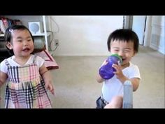 Cute Little Asian Babies Can't Stop Laughing