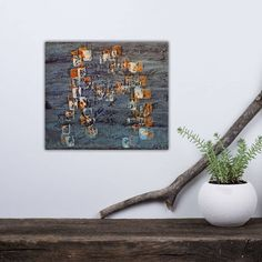 "12 likerklikk, 1 kommentarer – Elisabeth Larem, Bodø Norway (@elisabeth_larem_galleri) på Instagram: ""Dette malte jeg i 2007 (!) for å vise elever at man kan male på forskjellige plater - her noe plank…"" Malta, Frame, Painting, Home Decor, Pictures, Picture Frame, Malt Beer, Decoration Home, Room Decor"