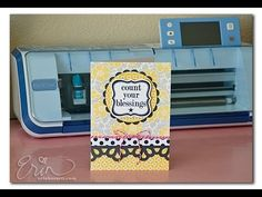Craft-A-Long With The Scan N Cut: Making A Card