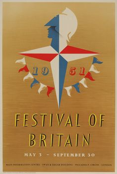 Image result for festival of britain poster