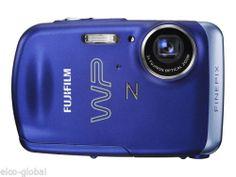 Fujifilm FinePix Z33WP 10.0 MP, 3X Optical Zoom, 2.7'' LCD, Digital Camera Blue