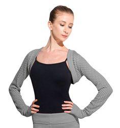 Adult Open Knit Long Sleeve Shrug - Style No Z6579