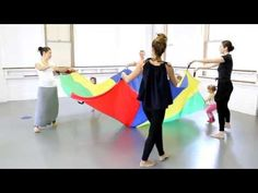 Dance With Me Class - Children's Program at The Joffrey Ballet School NYC - YouTube