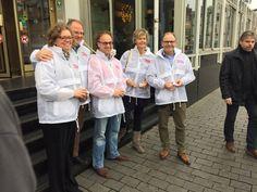 Afgelopen zaterdag heeft het bestuur Wonen van de NVM de NVM Open Huizen Dag gepromoot in Den Bosch.