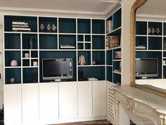 Bibliothèque et placards sur-mesure dans un appartement parisien, La Maison Des Travaux Paris Etoile-Boulogne Billancourt - Côté Maison